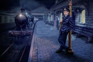 Waiting for the Last Train by Gareth Jenkins