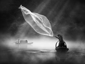 Cast Net in the Morning by Sio Hong Fong AFIAP UPICr2