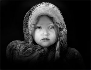 Little Orphan Girl 1 by Sue Slater EFIAP