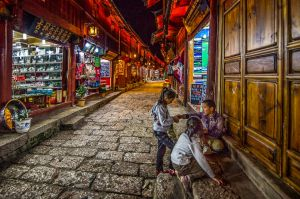 An Old Street in China by Francis King