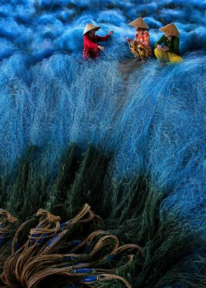 Color-Fishing Nets by David Poey Cher Tay FRPS MFIAP