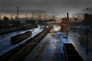 Railroads by Yuri Vorontsov AFIAP