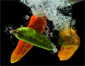 Paprika Dive by Louis Lotter