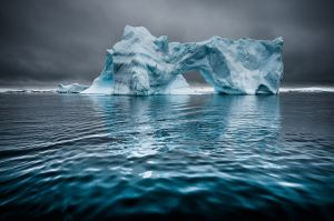 Iceberg Blue 4 by Gunther Riehle GMPSA
