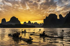 Li River at Dusk by Sio Hong Fong AFIAP UPICr2