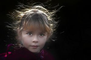 Little Lass by David Poey Cher Tay FRPS MFIAP