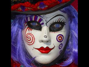 Carnival Clown by Chris Ellison ARPS