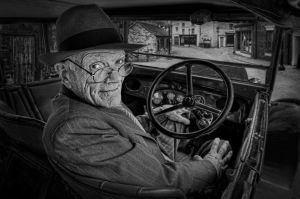 Waiting Driver by Gareth Jenkins