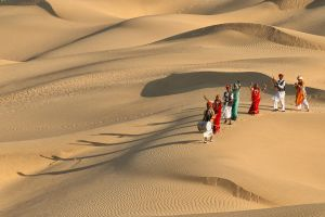 Dancing Dune at Khuri by Mukesh Seivastava