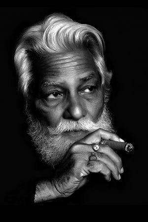 Man with Cigar by Mukesh Seivastava
