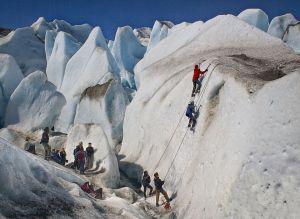 Otra Escalada En El Glaciar by Jose Luis Urbaitel EFIAP/b MPSA EFAF