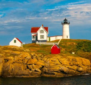 Nubble Light by Suann Tichy