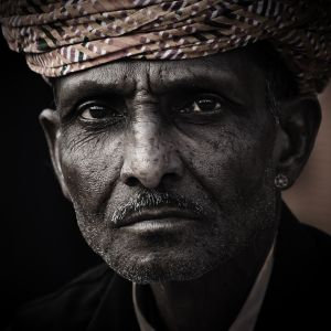 QIDC HM - Indian Portrait by Kurt Treumann AFIAP