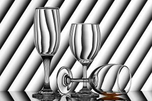 PSA Gold (BOS) - Art of Wine Glass-2 by Mukesh Srivastava AFIAP