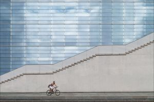 APS Merit - White Stairs by Maria Menze AFIAP