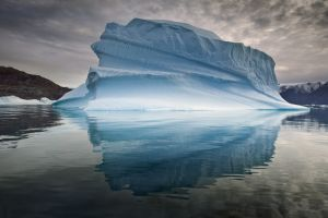 QIDC HM - Ices of Greenland in the Evening 2 by Sergey Anisimov AFIAP