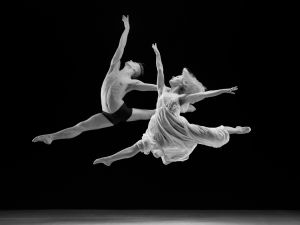 PSA Gold (BOS) - Two Dancers Leaping by David Laronde AFIAP APSA EPSA ARPS