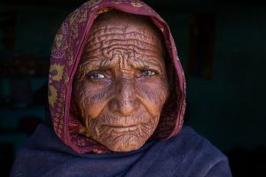 QIDC HM - Old Indian Women 2 by Haitham Al Farsi
