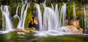 QIDC Bronze (Judges Choice) - Jiuzhaigou Waterfall by Linda Oliver EPSA EFIAP