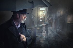 APS Merit Strangers in the Rain by Adrian Donoghue