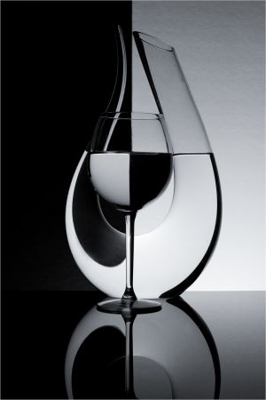 QIDC HM Decanter and Glass byRay Shorter LAPS